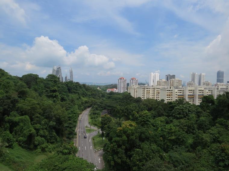 Southern Ridges Singapour ballade