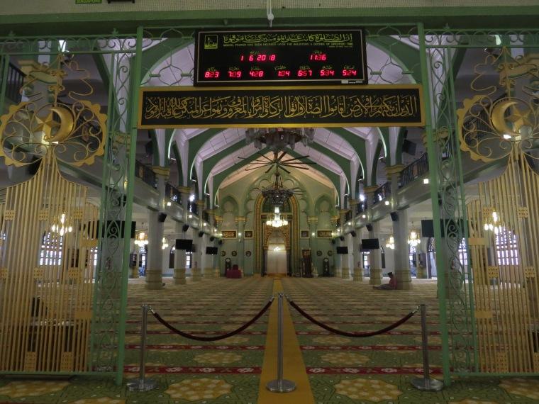 Visite mosquée du sultan singapour