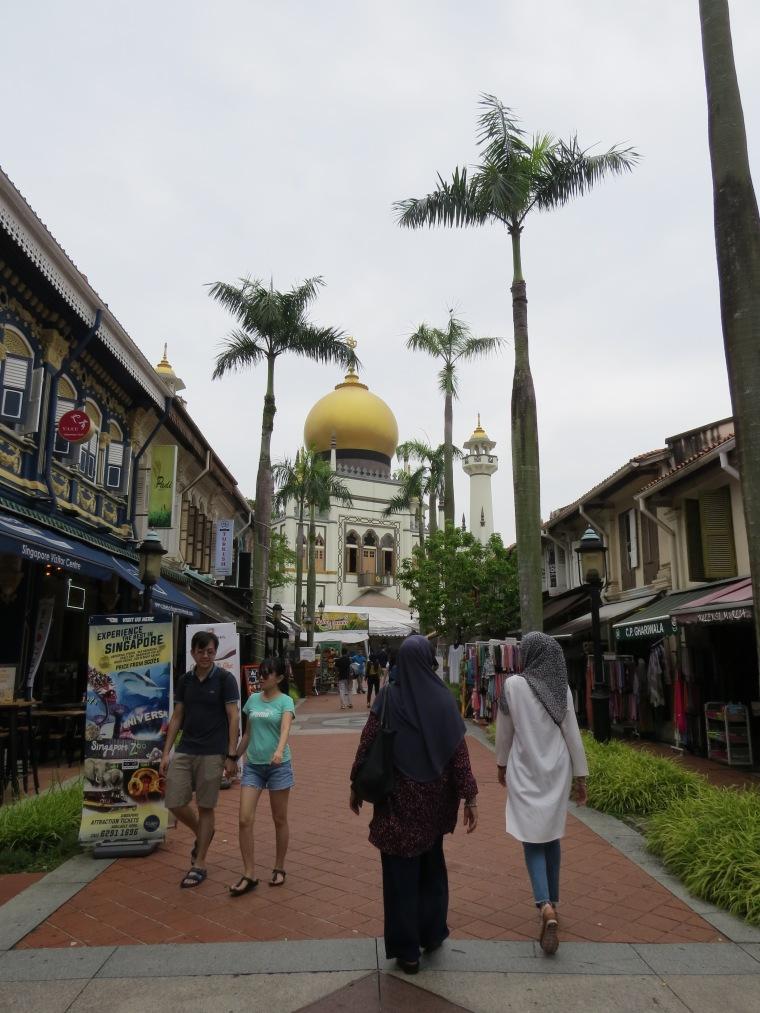 Mosquée du Sultan singapour