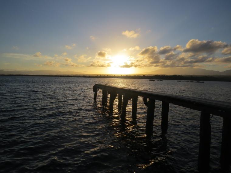 Coucher de soleil Tumbak