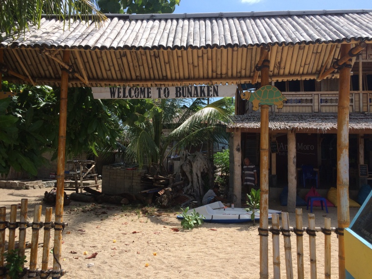 Bunaken island Indonésie