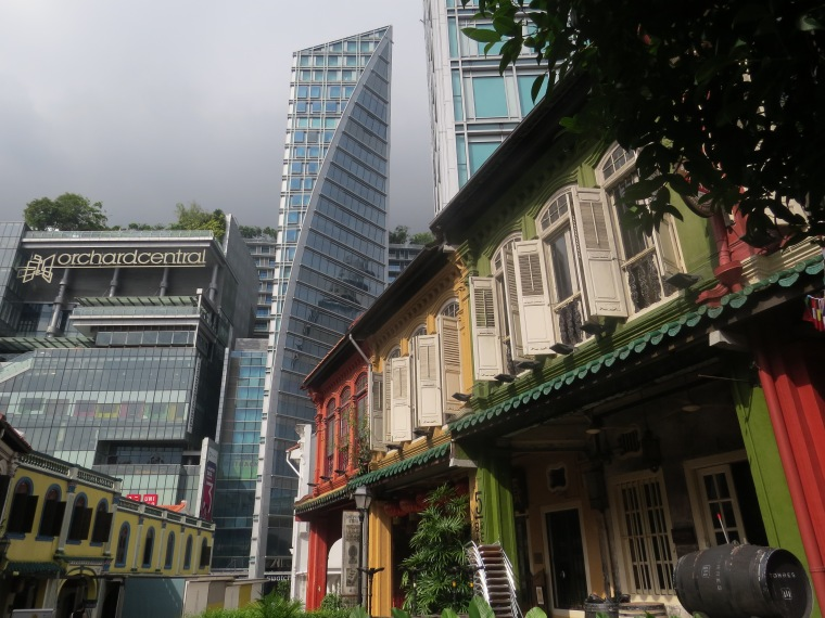 Singapour ville état