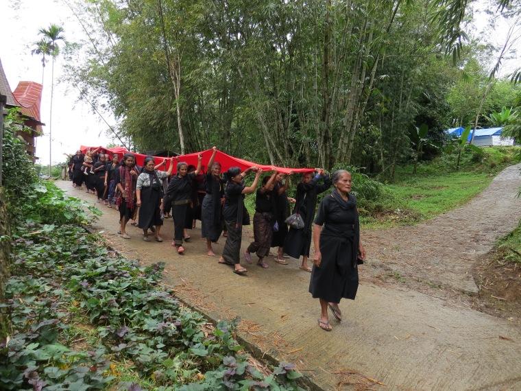 Funérailles Rantepao Procession