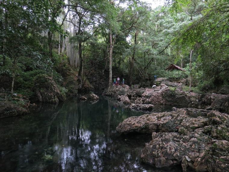Piscine naturelle de Tilanga
