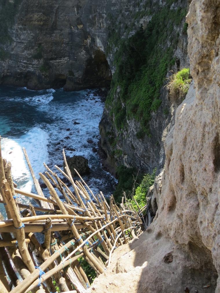Nusa penida Bali Seganing Waterfalls.