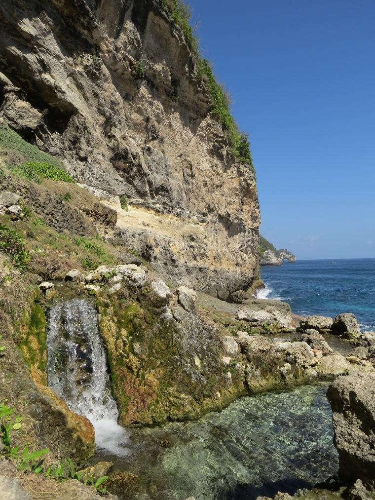 Seganing Waterfalls. Nusa penida bali