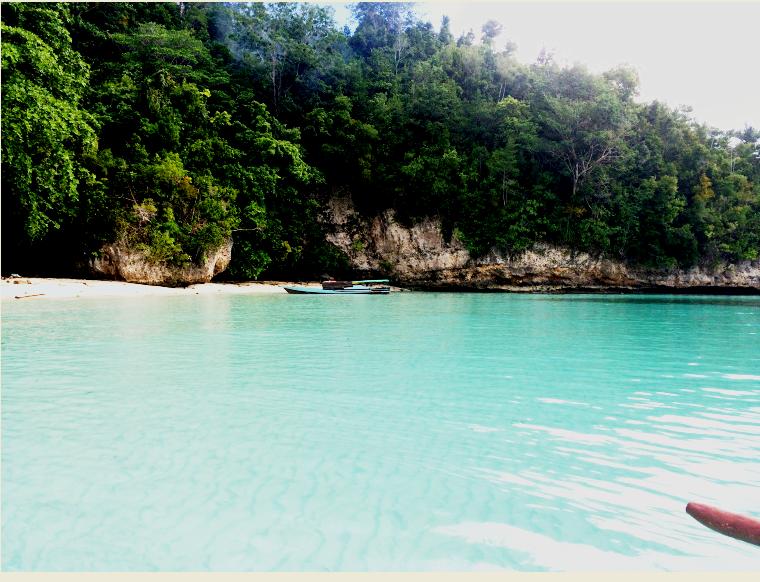 Carina beach Iles Togian