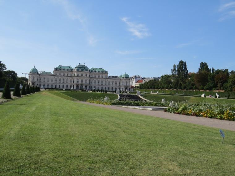 jardin belvédère Vienne