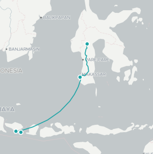 Sulawesi bali nusa penida